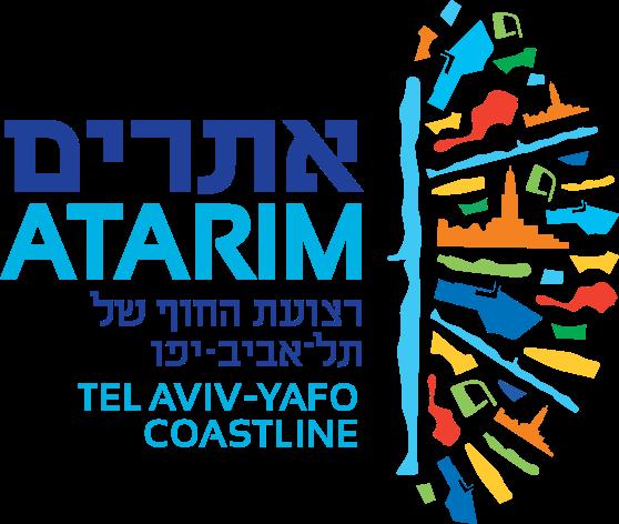 לוגו אתרים רצועת החוף של תל אביב-יפו